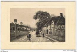 VOR  DER  SCHENKE:  BEFORE  THE  INN  -  DEVANT  L' AUBERGE  -  NACH  DEUTSCHLAND  -  KLEINFORMAT - Hotels & Gaststätten