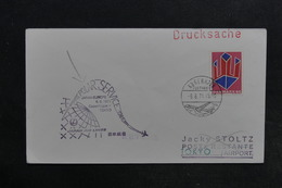 DANEMARK - Enveloppe Souvenir Des 10 Ans De Liaison Europe / Japon Par Voie Polaire En 1971 - L 32318 - Cartas
