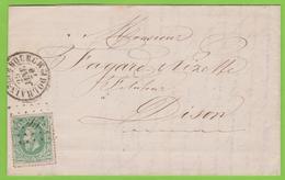 Lettre  N° 30 - Lp. 99 DOLHAIN - LIMBOURG >>> DISON -  Coba+++15 - 1869-1883 Léopold II