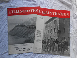 Illustration ( L') N° 5214 Du 13 Février 1943 Et 5221 Du 3 Avril 1943 - Journaux - Quotidiens