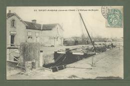 CARTE POSTALE 41 LOIR ET CHER SAINT AIGNAN L ECLUSE DE NOYER BELLE PENICHE - France