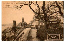 78 - Yvelines / CONFLANS -Ste- HONORINE -- Panorama Près Du Château. - Conflans Saint Honorine