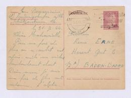 DR Postkarte P 299 I Mit MWSt LUDWIGSHAFEN, Vergiß Nicht Straße Und Hausnummer ... 1944 - Germany