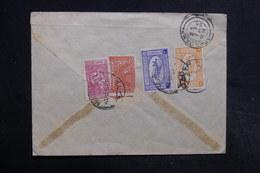 ARABIE SAOUDITE - Enveloppe Pour Aden En 1956 , Affranchissement Plaisant Au Verso - L 32324 - Arabie Saoudite