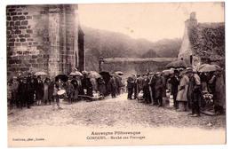 4997 - Compains( 63 ) - Marché Aux Fromages - Auvergne Pittoresque - Gouilloux Phot. à IIssoire  - - Frankrijk
