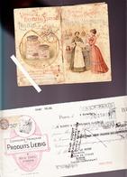 Liebig / Carnet 68 Pages De La Bonne Ménagère Année 1903 / Recettes / Voir état - Reclame