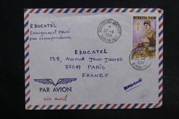 BURKINA FASO - Affranchissement Général De Gaulle Sur Enveloppe De Ouagadougou En 1991 Pour La France - L 32327 - Burkina Faso (1984-...)