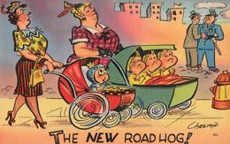 Comics Humor Comic Comique Humour - The New Road Hog - Ladies With Children - No. 411 - 74297 - 2 Scans - Humour