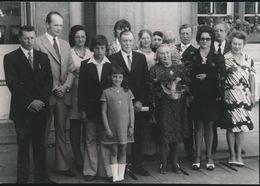 RONSE    FOTO 1973  ===    GOUDEN BRUILOFT   ASSEL PETRUS - HOLLEVOET MALVINA   +- 15 X 8 CM - Renaix - Ronse