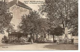 Ac15/       52   Bologne      La Place& Le Monument Aux Morts - Autres Communes