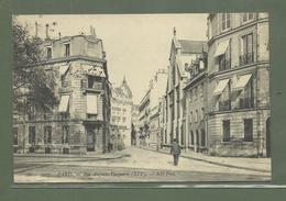 CARTE POSTALE 75 PARIS RUE AUGUSTE VACQUERIE - District 16
