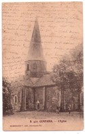 4998 - Compains( 63 ) - L'Eglise - N°B470 - Dumousset édit. à Cl.- Fd. - - Andere Gemeenten