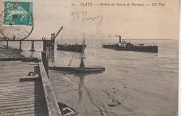 33 - BLAYE - Arrivée Du Bateau De Bordeaux - Blaye