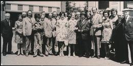 AALTER    FOTO 1973  ===  GOUDEN  BRUILOFT    DE BAETS        +- 15 X 8 CM - Aalter