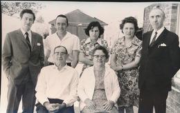 MALDEGEM      FOTO 1973  ===  GOUDEN  BRUILOFT    R.VAN KERREBROEK - DE LILLE       +- 15 X 8 CM - Maldegem