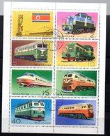 Serie Nº 1397G/ 1397N  Used  Corea - Trenes