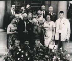 RONSE     FOTO 1973  ===  DIAMANTEN  BRUILOFT    LEBRUN F _ DEMAN MARIE      +- 15 X 8 CM - Renaix - Ronse