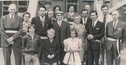 MALDEGEM    FOTO 1973  ===  GOUDEN   BRUILOFT    THEOFIEL DE CONINCK - RENILDE VAN HAECKE     +- 15 X 8 CM - Maldegem