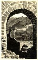 China, The Great Chinese Wall (1930s) RPPC Postcard - China
