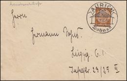 Sonderstempel AURICH - Auricher Wohnen / Haus 6.9.37 Drucksache EF Hindenburg - Architektur