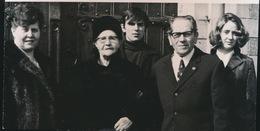 HERZELE       FOTO 1973  ===  GOUDEN   BRUILOFT    VAN HEDDEGHEM   +- 15 X 8 CM - Herzele