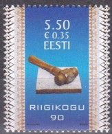 EESTI, 2009, 636, 90 Jahre Riigikogu (Parlament).  MNH ** - Estland