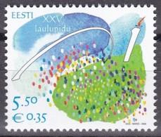 EESTI, 2009, 641, 25. Sängerfest.  MNH ** - Estland