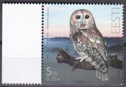 EESTI, 2009, 646, Waldkauz.  MNH ** - Estland