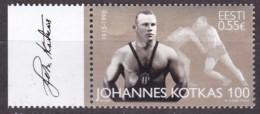 EESTI, 2015, 815, 100. Geburtstag Von Johannes Kotkas. MNH ** - Estland
