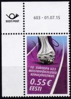 EESTI, 2015, 831,  Leichtathletikmeisterschaften  MNH ** - Estland