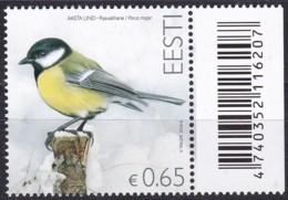 EESTI, 2016, 851,  Vogel Des Jahres : Kohlmeise.  MNH ** - Estland