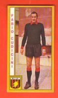 Calcio PANINI Figurine Fabio Cudicini MILAN 1969 - 70 Calciatori - Edizione Italiana