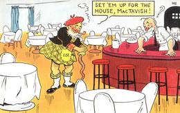 Comics Humor Comic Comique Humour - Set 'em Up For The House, MacTavish ! - Bar Restaurant - No. 562 - 74915 - 2 Scans - Humour