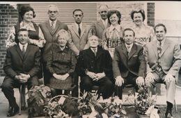ADEGEM        FOTO 1973  ===  GOUDEN   BRUILOFT   J.AESAERT - AUGUSTA HEENE       +- 15 X 8 CM - Maldegem