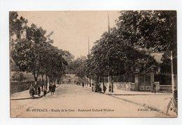 - CPA PUTEAUX (92) - Montée De La Gare - Boulevard Richard-Wallace 1915 (avec Personnages) - Edition L'Abeille N° 16 - - Puteaux