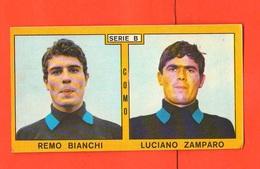 Calcio PANINI Figurine COMO Campionati 1969 - 70 Calciatori BIANCHI ZAMPARO - Edizione Italiana