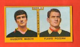 Calcio PANINI Figurine CATANZARO Campionati 1969 - 70 Calciatori MASCHI POZZANI - Edizione Italiana