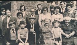 AAIGEM     FOTO 1973  ===  GOUDEN   BRUILOFT   VAN  DE STEEN    +- 15 X 8 CM - Herzele