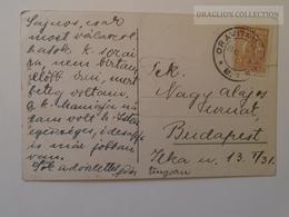 D164391 Romania Cancel Oravita  1929 - Künstler AK Hans Zatzka Annektiert Frauen M. Kleider Schwäne Swan - 1918-1948 Ferdinand, Charles II & Michael