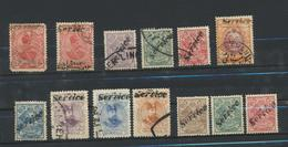 IRAN  Collection Stamps Collection 58 Timbres- Cachets à La Main- Good Handstamped-with Airmail - Iran