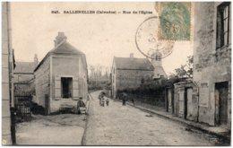 14 SALLENELLES - Rue De L'Eglise - Francia