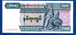 Myanmar - 200 Kyats  état  UNC - Myanmar