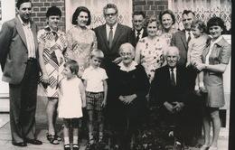 RONSE   FOTO 1973  ===   DIAMANTEN    BRUILOFT     MARTIN AUGUSTE - HANTSON MARIE    +- 15 X 8 CM - Renaix - Ronse
