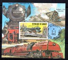 Serie Nº 531/3 En Hb  Used  Djibouti - Trenes