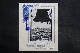 ISRAËL - Carte De Noël Et De Nouvel An De Bethléem - L 32341 - Vieux Papiers