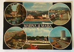 MARINA DI MASSA  - VEDUTE VIAGGIATA FG - Massa