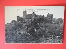 LOT  Bretenoux  Château De Castelnau  Près Bretenoux  Vue D'ensemble - Bretenoux