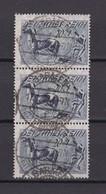Deutsches Reich - 1921 - Michel Nr. 176 - Dreierstreifen - Gest. - 10,5 Euro - Gebraucht