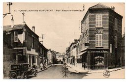 78 - Yvelines / CONFLANS -Ste- HONORINE -- Rue Maurice Berteaux (dos Vert). - Conflans Saint Honorine