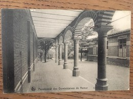 CPA, NAMUR, Pensionnat Des Dominicaines De Namur, Cloitre,édition Nels, écrite En 1919, Timbre, Cachet étoile - Namen
